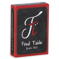 Karty do gry Final Table Black Deck