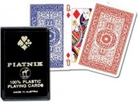 Karty plastikowe 1 talia Piatnik