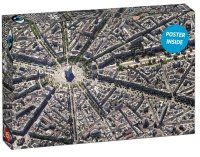 Puzzle Sky Views: Paris