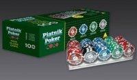 Żetony do pokera 100 sztuk