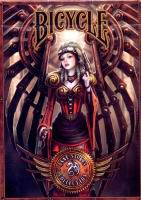 Karty Bicycle Anne Stokes Steampunk