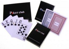 Karty do gry. Poker Stars. 100% plastik. 2 talie.