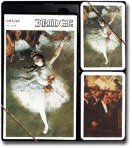 Degas - 2 talie kart + bloczek