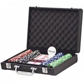 Zestaw Premium w skórzanej walizce