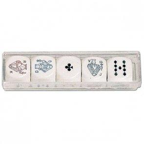 Kości Pokerowe (16 mm)