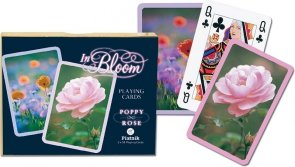 Karty Piatnik Rozkwit, Mak+Róża