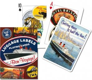 Karty Piatnik Luggage Labels