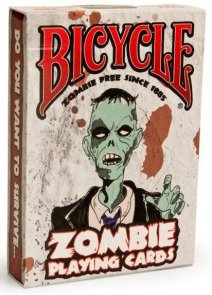 Karty Bicycle Zombie