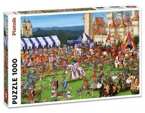 Puzzle Piatnik Ruyer, Turniej rycerski