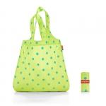 Siatka na zakupy Mini Maxi Shopper kolor Lemon Dots, firmy Reisenthel