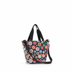 Torba na zakupy Shopper XS kolor Happy Flowers, firmy Reisenthel