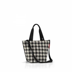 Torba na zakupy Shopper XS kolor Fifties Black/Black Dots, firmy Reisenthel