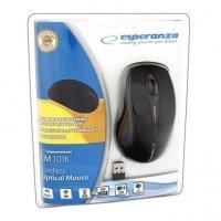 Bezprzewodowa Mysz optyczna EM101K USB, 2,4 GHz, NANO odbiornik