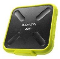 SSD External SD700 256G USB3.1 Durable Zółty