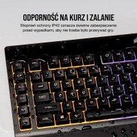 Gaming K55 RGB, Black, RGB LED