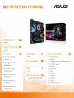 Płyta główna ROG STRIX Z390-F GAMING s1151 4DDR4 DP/HDMI ATX