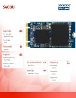 Dysk SSD S400U 120GB M.2 SATA 2242