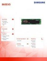 Dysk SSD 860EVO M.2Sata MZ-N6E2T0BW 2TB
