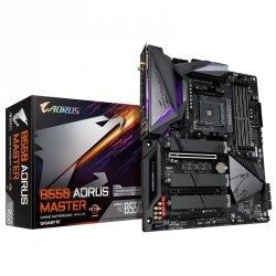 Płyta Gigabyte B550 AORUS MASTER /AMD B550/DDR4/SATA3/M.2/USB3.1/PCIe4.0/WiFi/BT/AM4/ATX