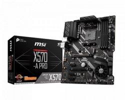 Płyta główna X570-A PRO AM4 4DDR4 USB3.2/USB-C/HDMI ATX
