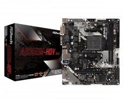 Płyta główna AB350M-HDV R4 AM4 2DDR4 DSUB/DVI/HDMI mATX