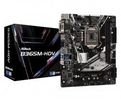 Płyta główna B365M-HDV s1151 2DDR4 HDMI/DVI/D-SUB UATX