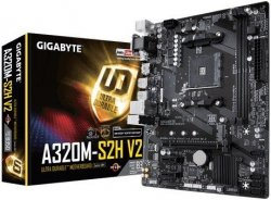 Płyta główna A320M S2H V2 B350 AM4 2DDR4 HDMI/DVI-D/D-SUB micro ATX
