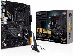 Płyta główna TUF GAMING B550-PLUS (WI-FI) AM4 DDR4 HDMI/DP M.2 ATX