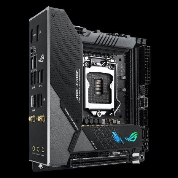 Płyta Asus ROG STRIX Z490-I GAMING /Z490/DDR4/SATA3/USB3.1/PCIe3.0/s.1200/mITX