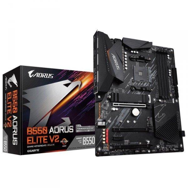 Płyta Gigabyte B550 AORUS ELITE V2 /AMD B550/DDR4/SATA3/M.2/USB3.1/PCIe4.0/AM4/ATX