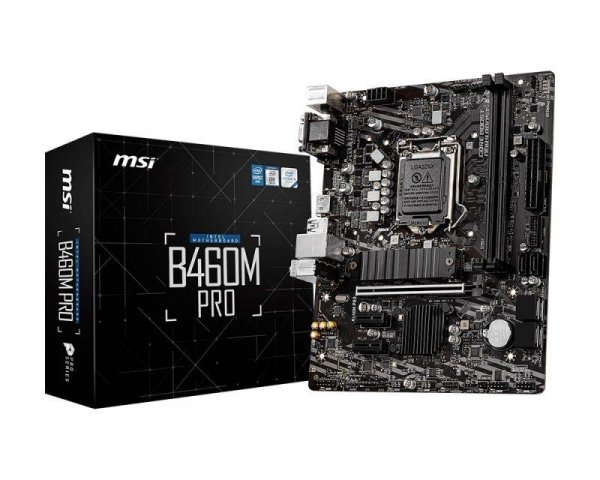 Płyta MSI B460M PRO /B460/DDR4/SATA3/M.2/USB3.0/PCIe3.0/s.1200/mATX