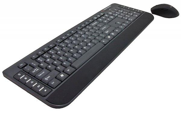KLAWIATURA + MYSZ EK120 BEZPRZEWODOWA 2,4GHz USB