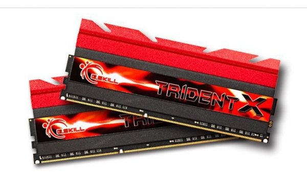 DDR3 16GB (2x8GB) TridentX 1600MHz CL7 XMP