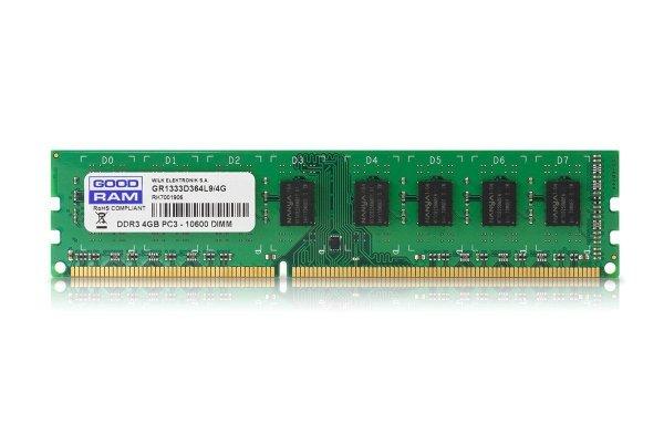 DDR3  4GB/1333 512*8 Single Rank