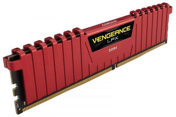 DDR4 Vengeance LPX 16GB/2400(2*8GB) CL14-16-16-31 RED 1,20V