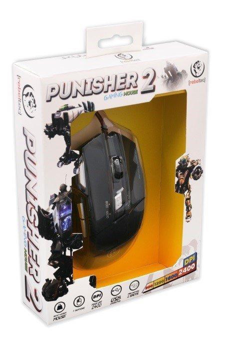 Gamingowa mysz optyczna USB PUNISHER 2