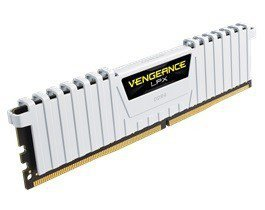 DDR4 Vengeance LPX 16GB/3000(2*8GB) CL15-17-17-35 WHITE