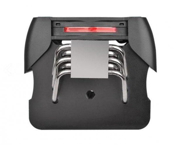 Wentylator Riing Silent 12 Pro Red (120mm, TDP 170W)