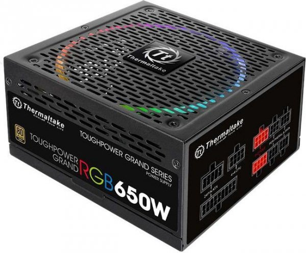 Toughpower Grand RGB 650W Mod. (80+ Gold, 4xPEG, 140mm)