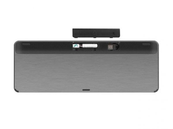 Klawiatura Turbot Slim 2.4GHz Touchpad, X-Scissors