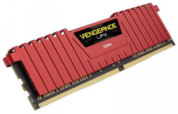 DDR4 Vengeance LPX 8GB/ 2400 RED CL16-16-16-39
