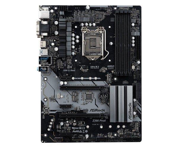 Płyta główna Z390 Pro4 s1151 4DDR4 HDMI/DVI/DSUB/M.2  ATX