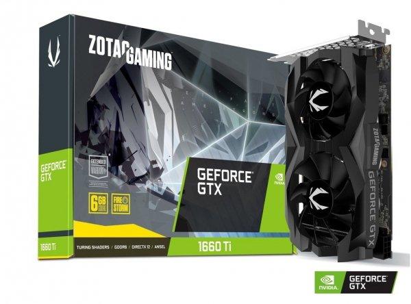 Karta graficzna GeForce GTX 1660 Ti 6GB GDDR6 192 BIT 3DP/ HDMI