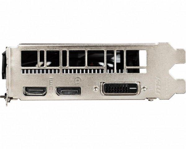 Karta graficzna GeForce GTX 1650 AERO ITX 4G OC 128bit GDDR5 HDMI/DP/DVI-D