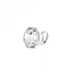 Anello di cristallo per colla