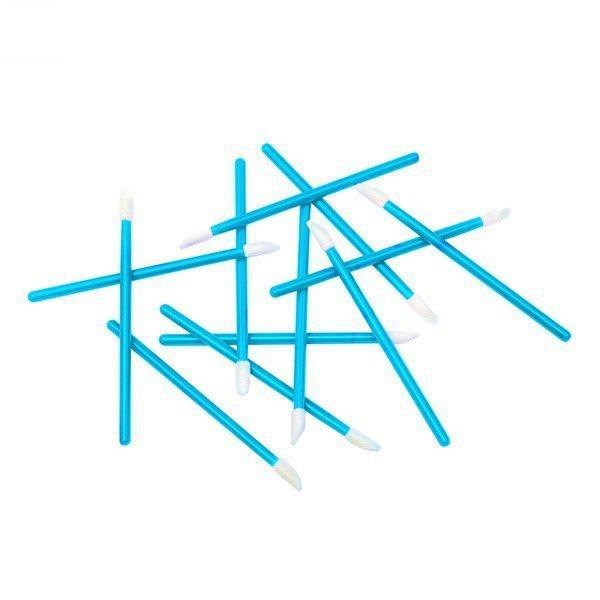 Aplicatori in velluto azzurro