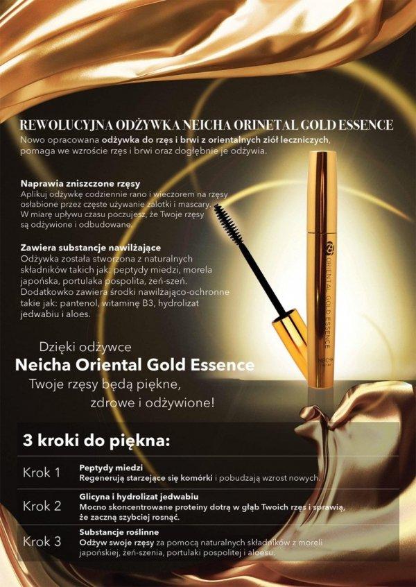 Siero per ciglia NEICHA Oriental Gold Essence