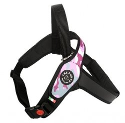 Harness PRIMO Moro Pink for big breeds