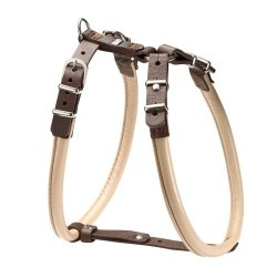 Harness CALGARY ELK beige bulldog and pug