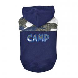 Ocieplana Bluza CAMP granatowa